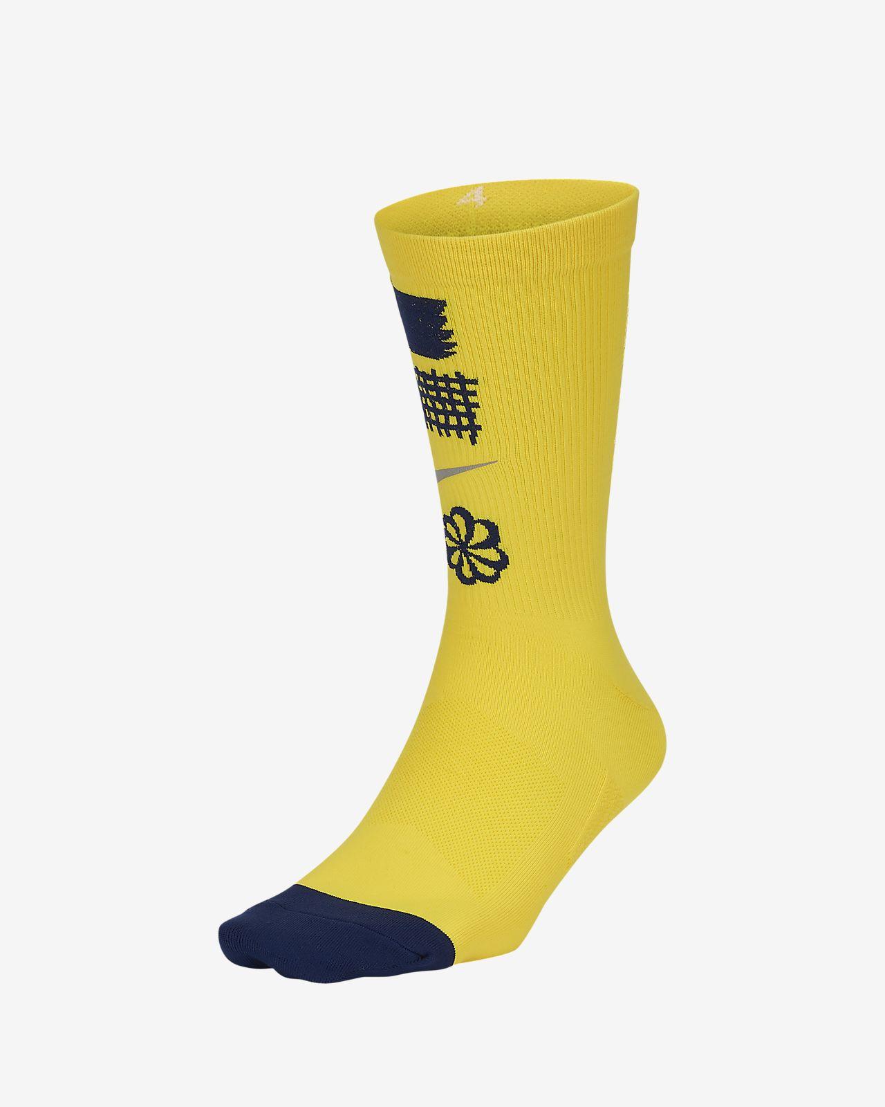 Nike Spark Lightweight Crew Grafikli Koşu Çorabı