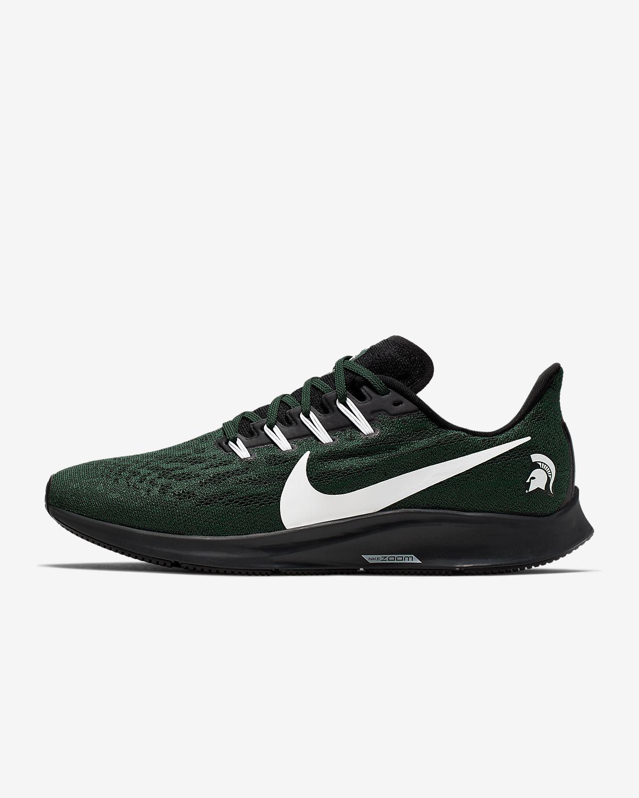 Nike Air Zoom Pegasus 36 (Michigan State) Men's Running Shoe