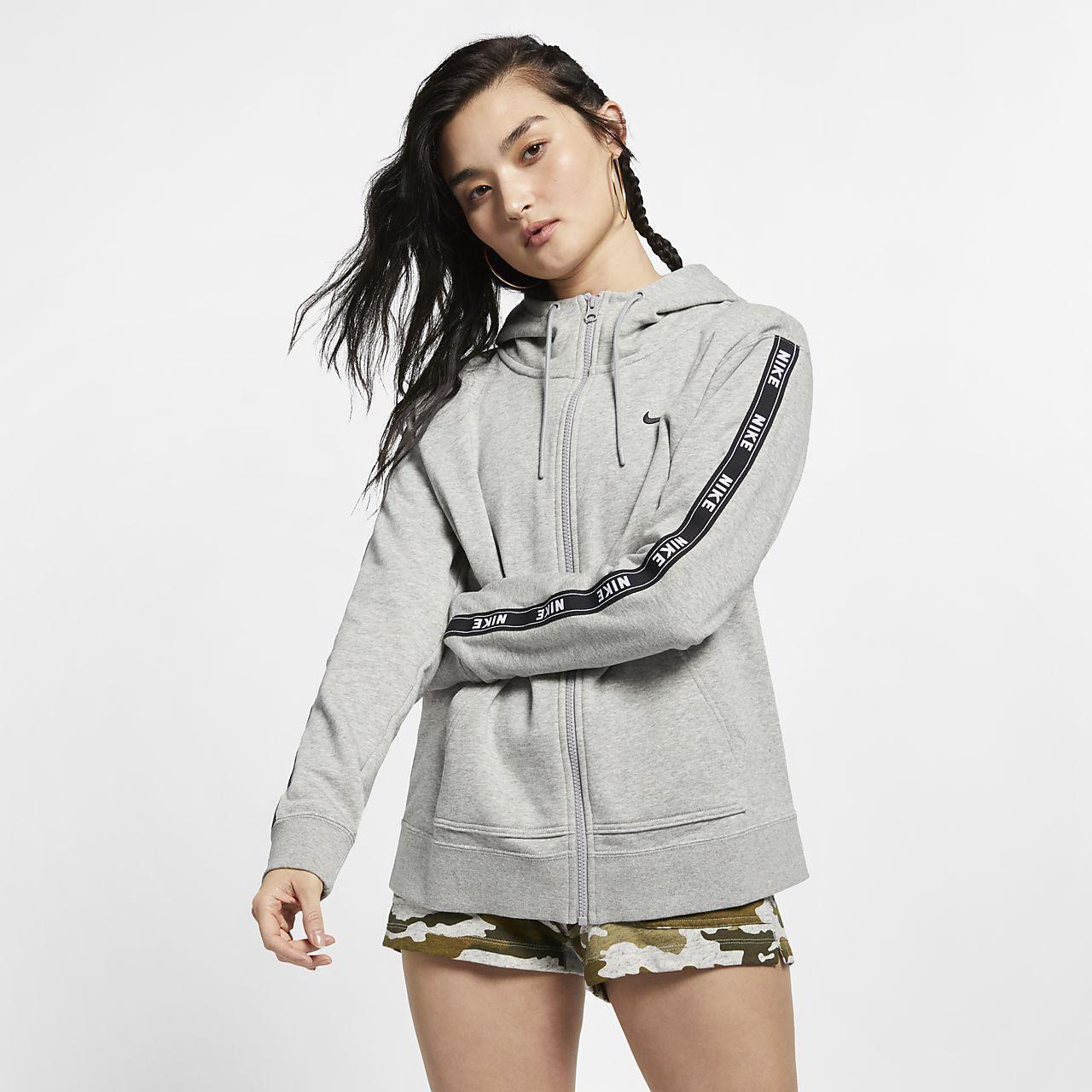 Capuche Avec Sweat Entièrement Sportswear Nike Zippé Pour À Logo nnxrwA5F