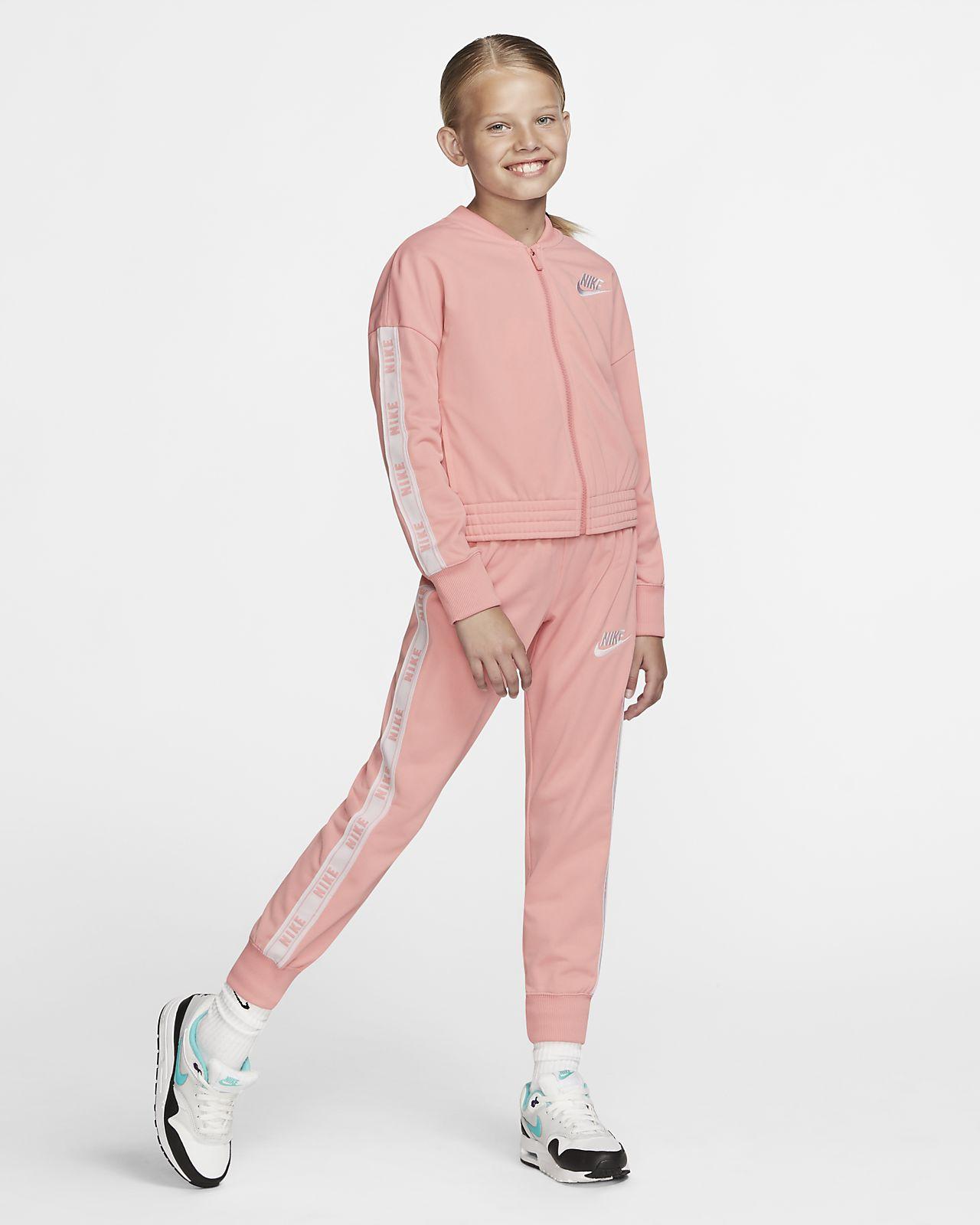 Nike Sportswear 大童(女孩)运动套装