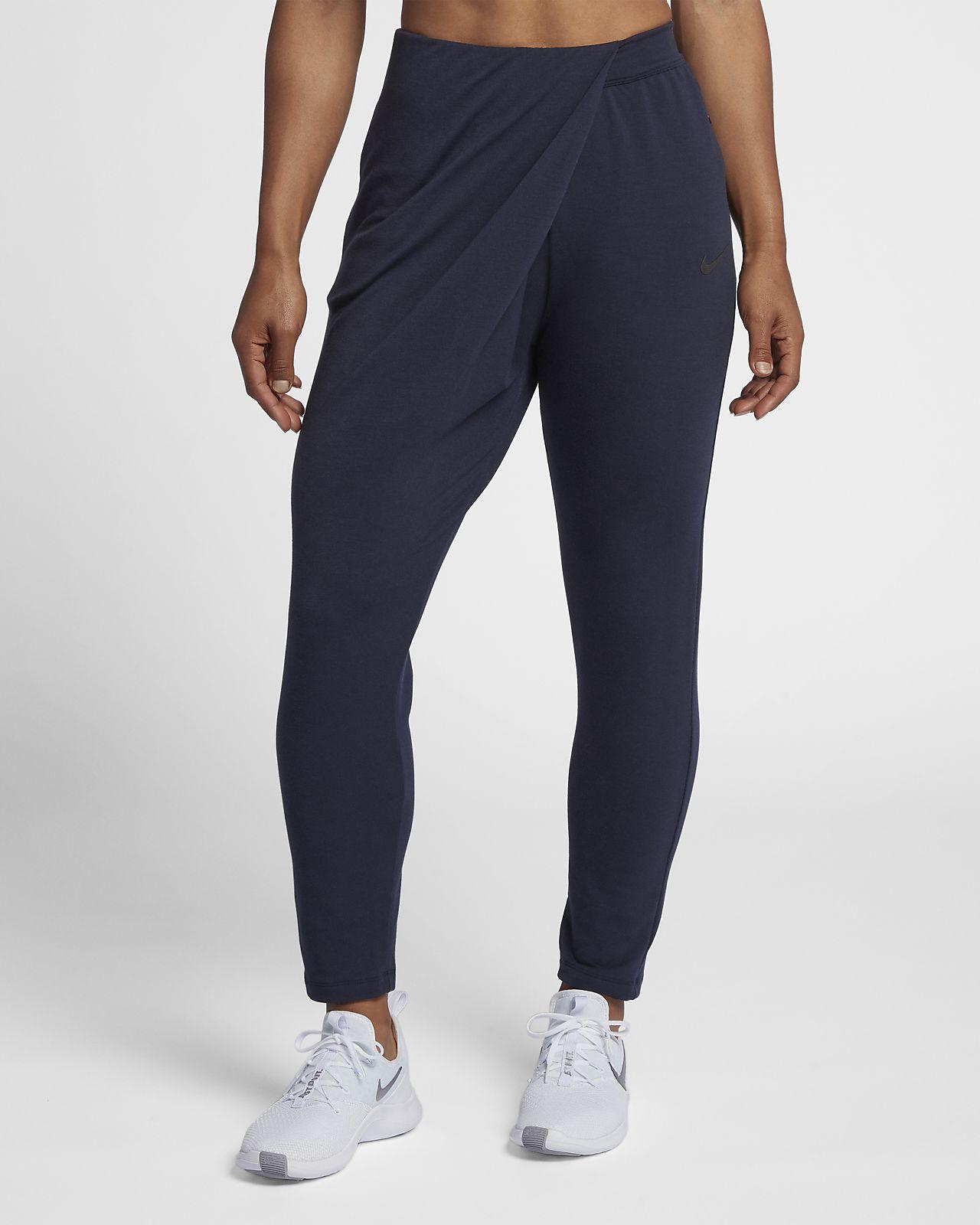 Mi Dri Fit Studio De Basse Pour Nike Training Taille Pantalon Femme qxAt1w6OY