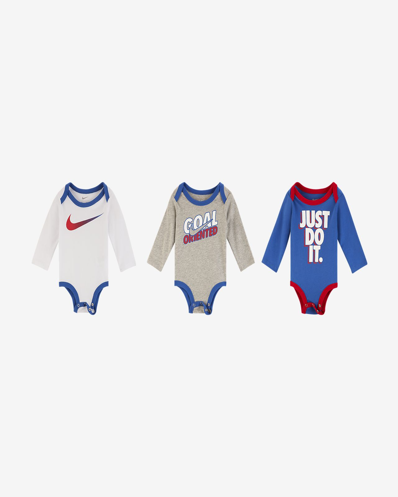 Nike Infant Bodysuits (3-Pack)