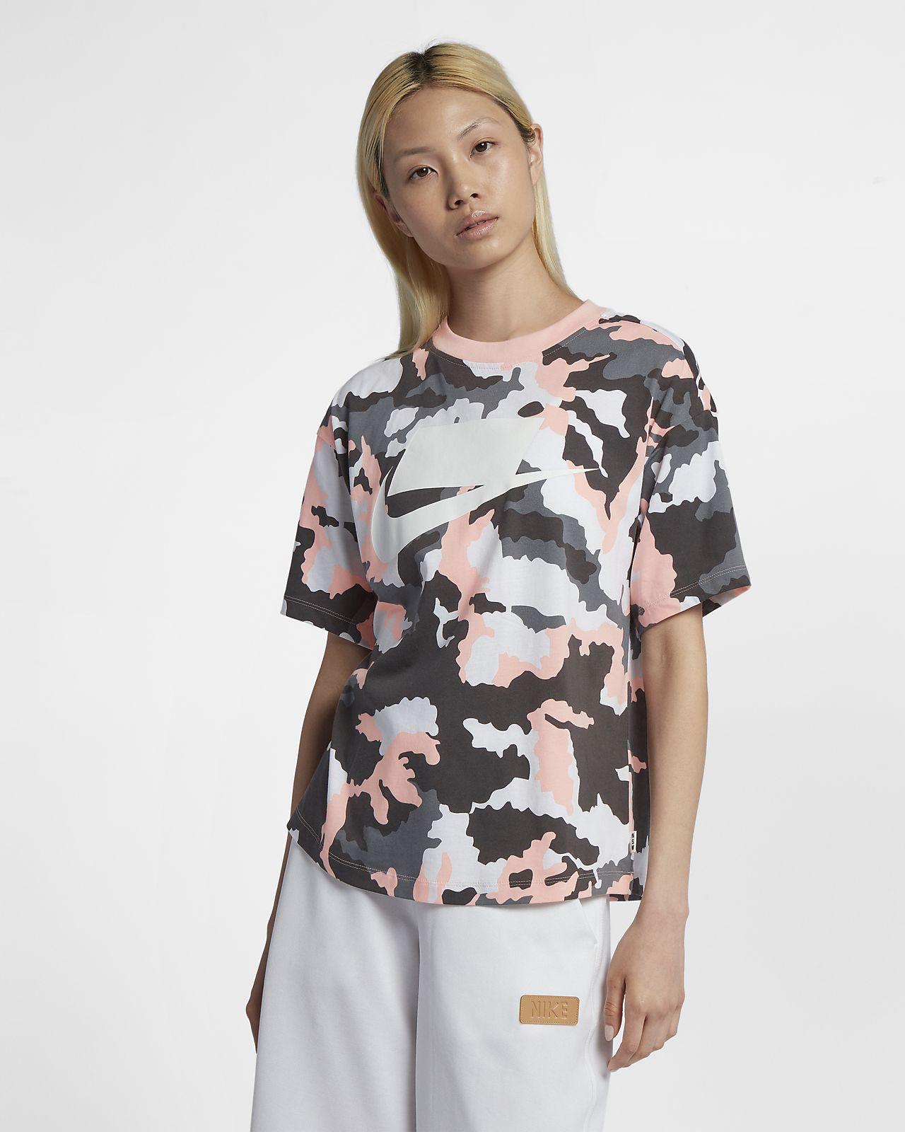 Haut à manches courtes Nike Sportswear pour Femme. Nike.com BE 1aa5b7d6151
