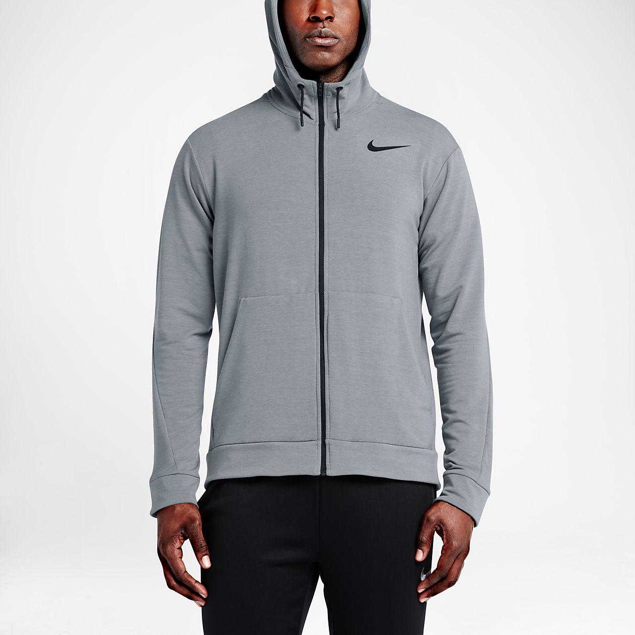... Nike Dri-FIT Men\u0027s Training Full-Zip Hoodie