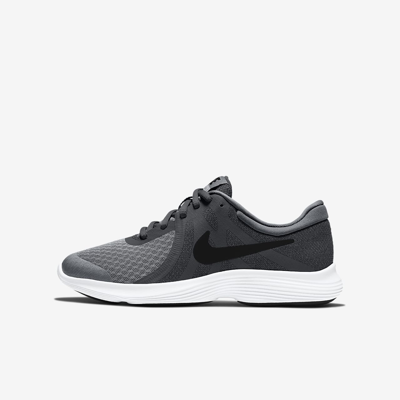 Chaussures Nike Revolution grises garçon katiG