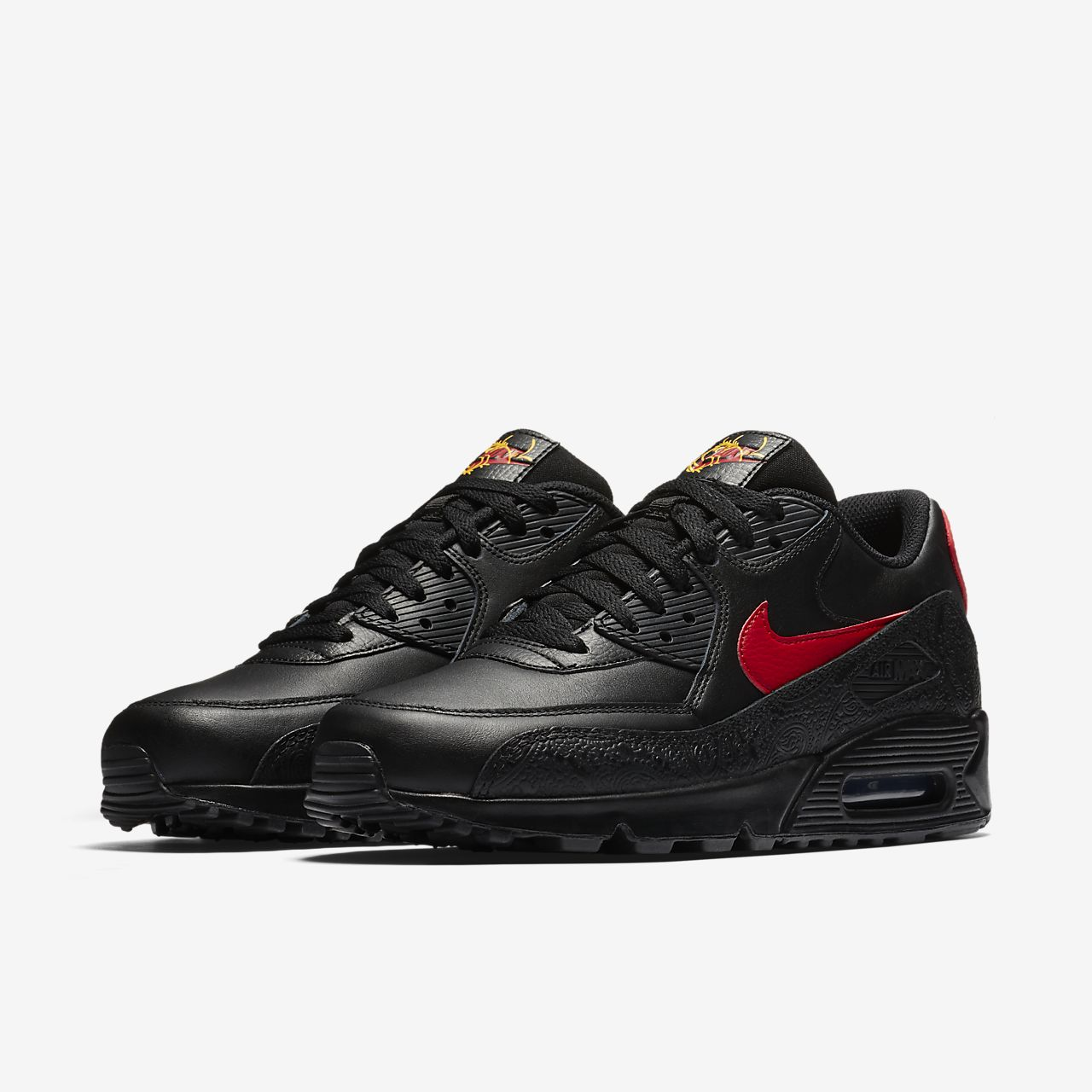 nike air max 90 mens black