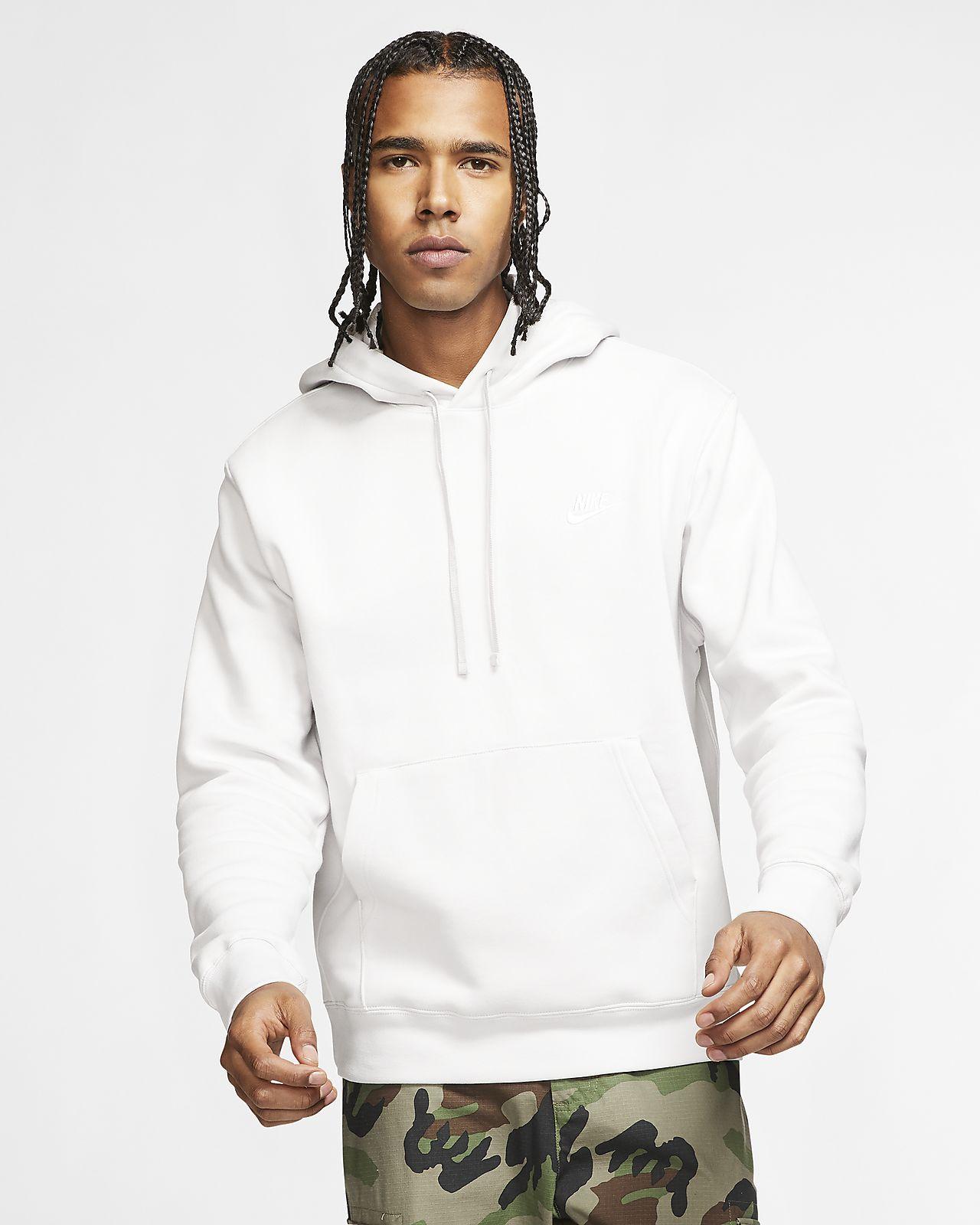 Nike Mädchen Sportswear Club Langarm Oberteil Mit Kapuze Full Zip