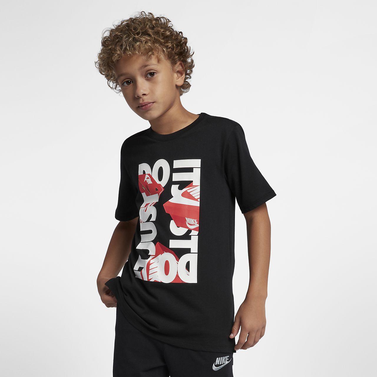 the latest 82d3e b218c Nike Sportswear Older Kids (Boys) Just Do It T-Shirt. Nike.c