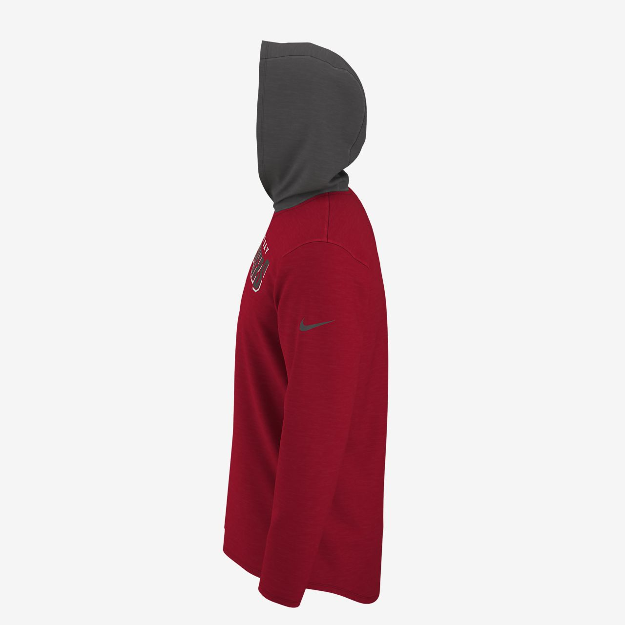 discount on wholesale performance sportswear Nike Dri-FIT (NFL Buccaneers) Men's Long-Sleeve Hooded Top