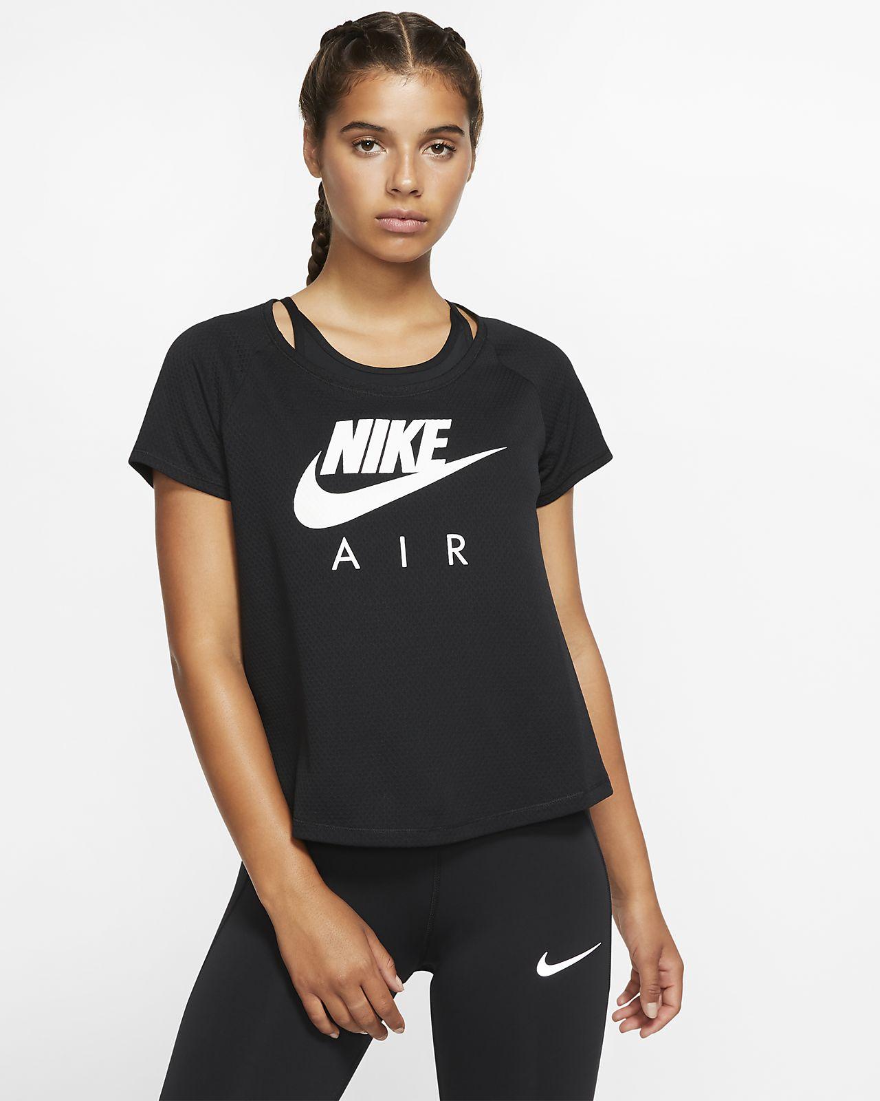 nike femme tee shirt running