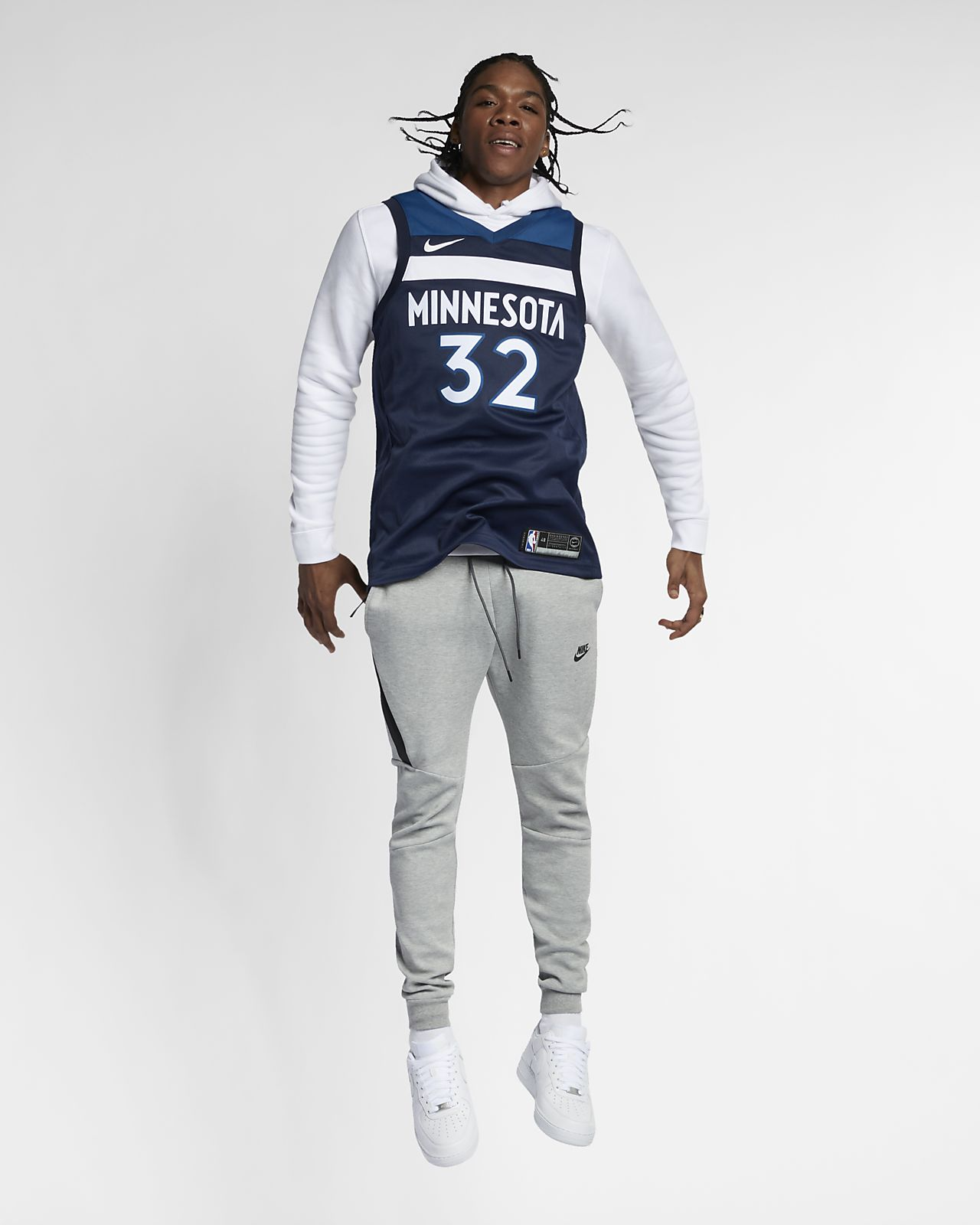new products 7ea5d 88657 Karl-Anthony Towns Icon Edition Swingman (Minnesota Timberwolves) Men's  Nike NBA Connected Jersey