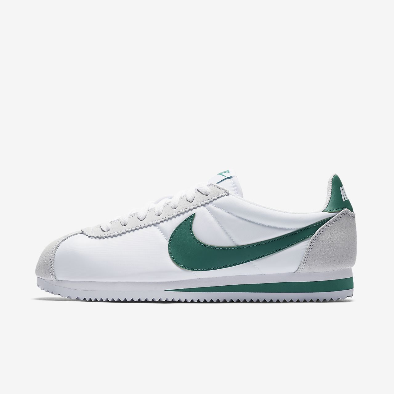 CLASSIC CORTEZ - Sneaker low - white/green noise