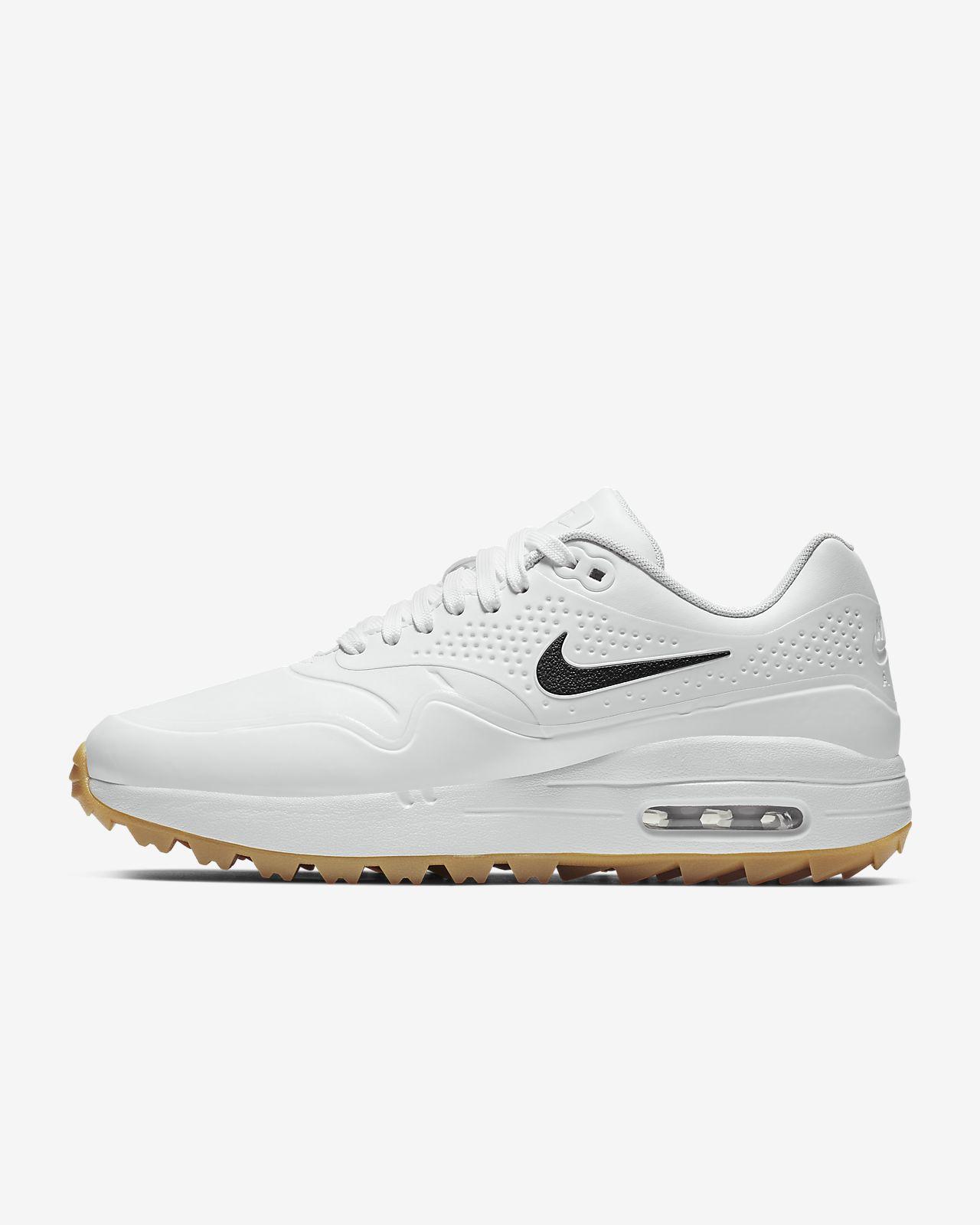 half off 5ab66 be33b ... Sapatilhas de golfe Nike Air Max 1 G para mulher