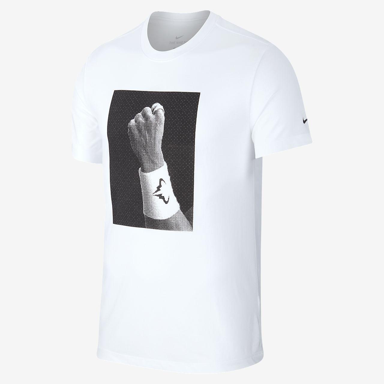 Tennis-t-shirt med tryck NikeCourt Dri-FIT Rafa för män