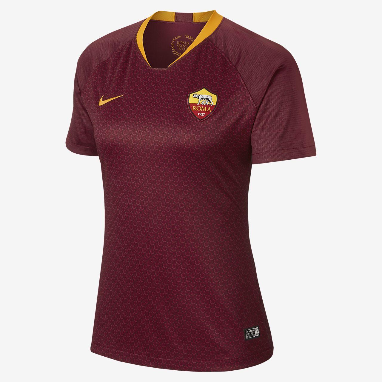 2018/19 AS Roma Stadium Home Women's Football Shirt
