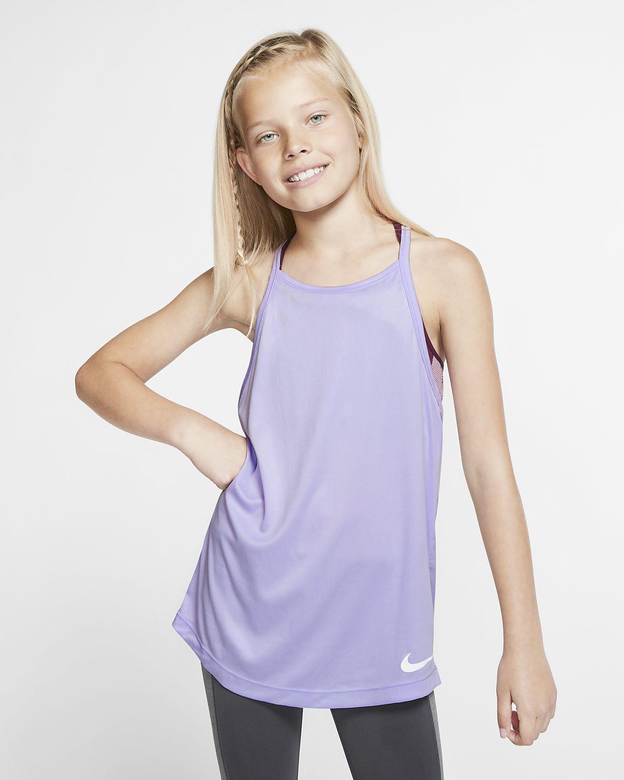 Canotta da training Nike Dri-FIT - Ragazza