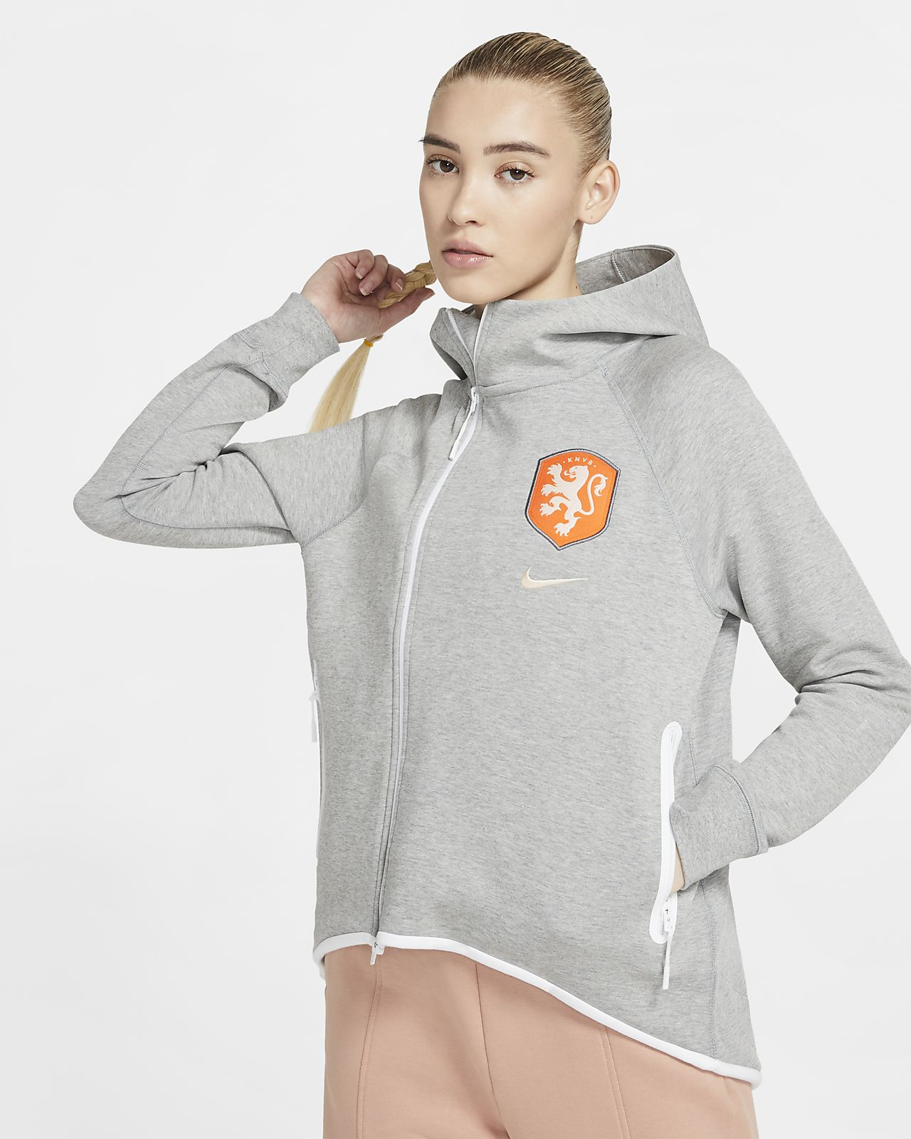 Cappa da calcio Netherlands Tech Fleece - Donna