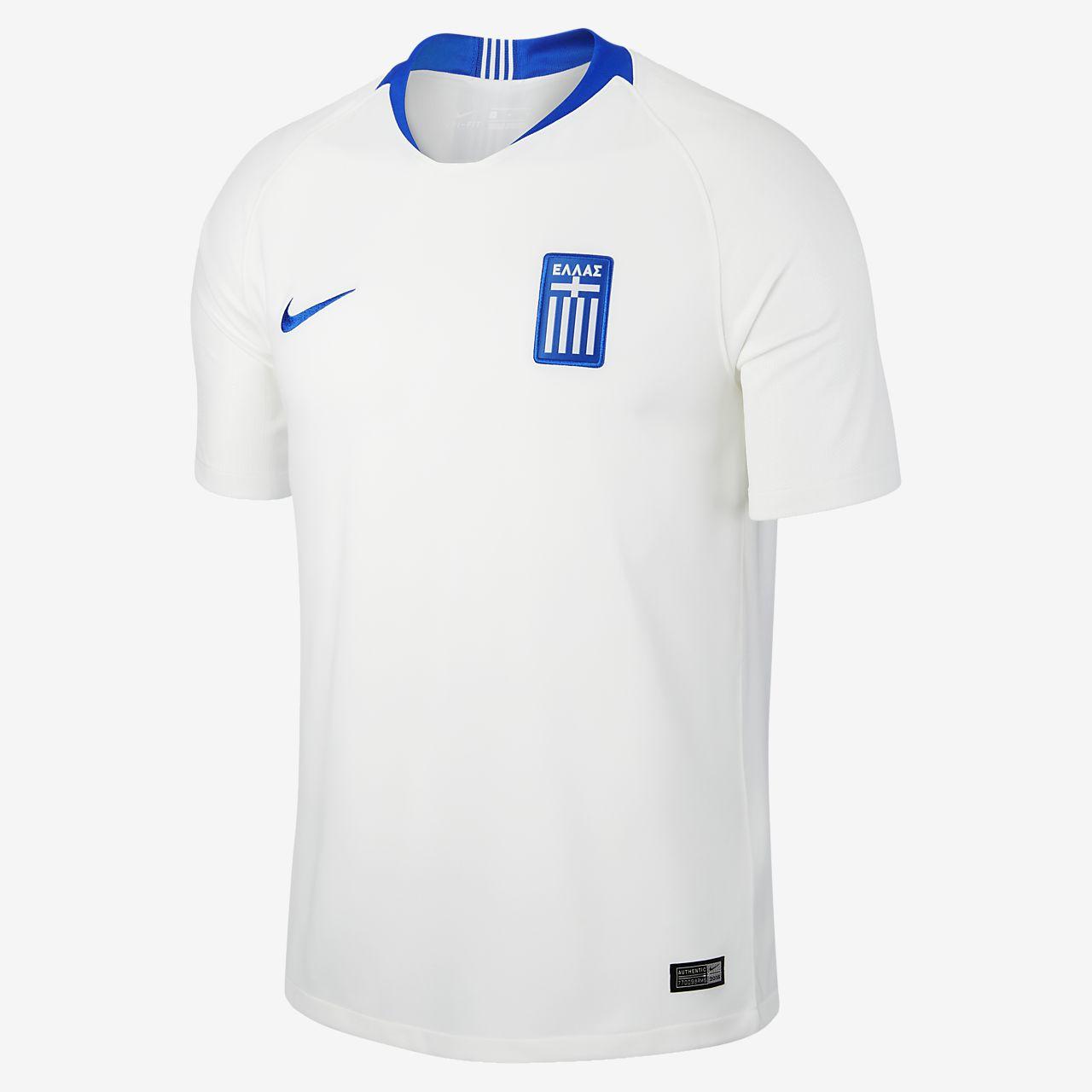 Pr Hombre De Fútbol Camiseta Stadium 2018 Home Para Greece C7qn8
