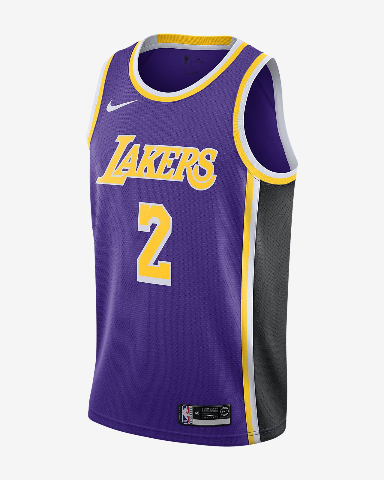 e6cfde76195 ... denmark lonzo ball statement edition swingman jersey los angeles lakers  mens nike nba connected jersey edfb1