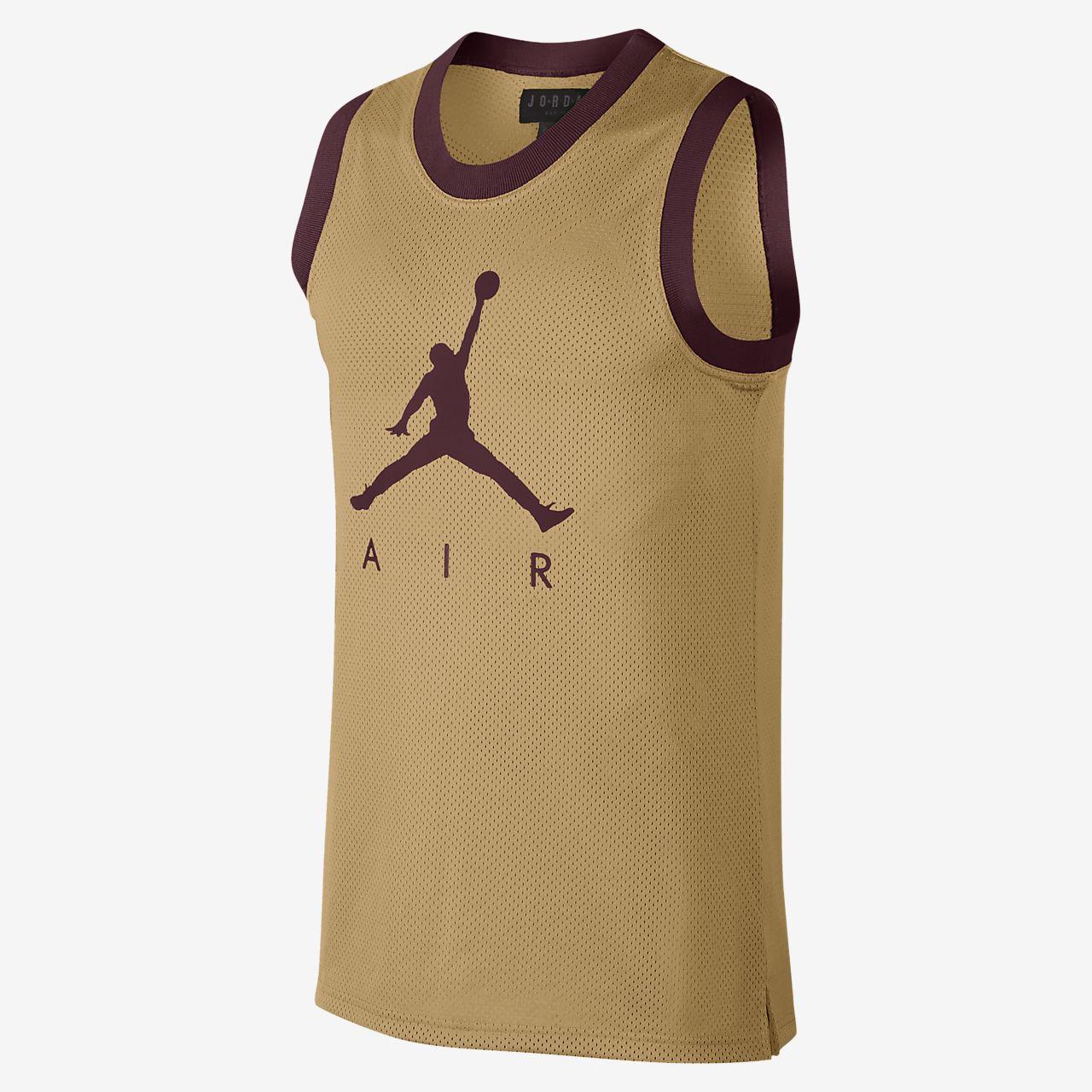 31963728316dc7 Jordan Jumpman Air Mesh Men s Basketball Jersey. Nike.com AT