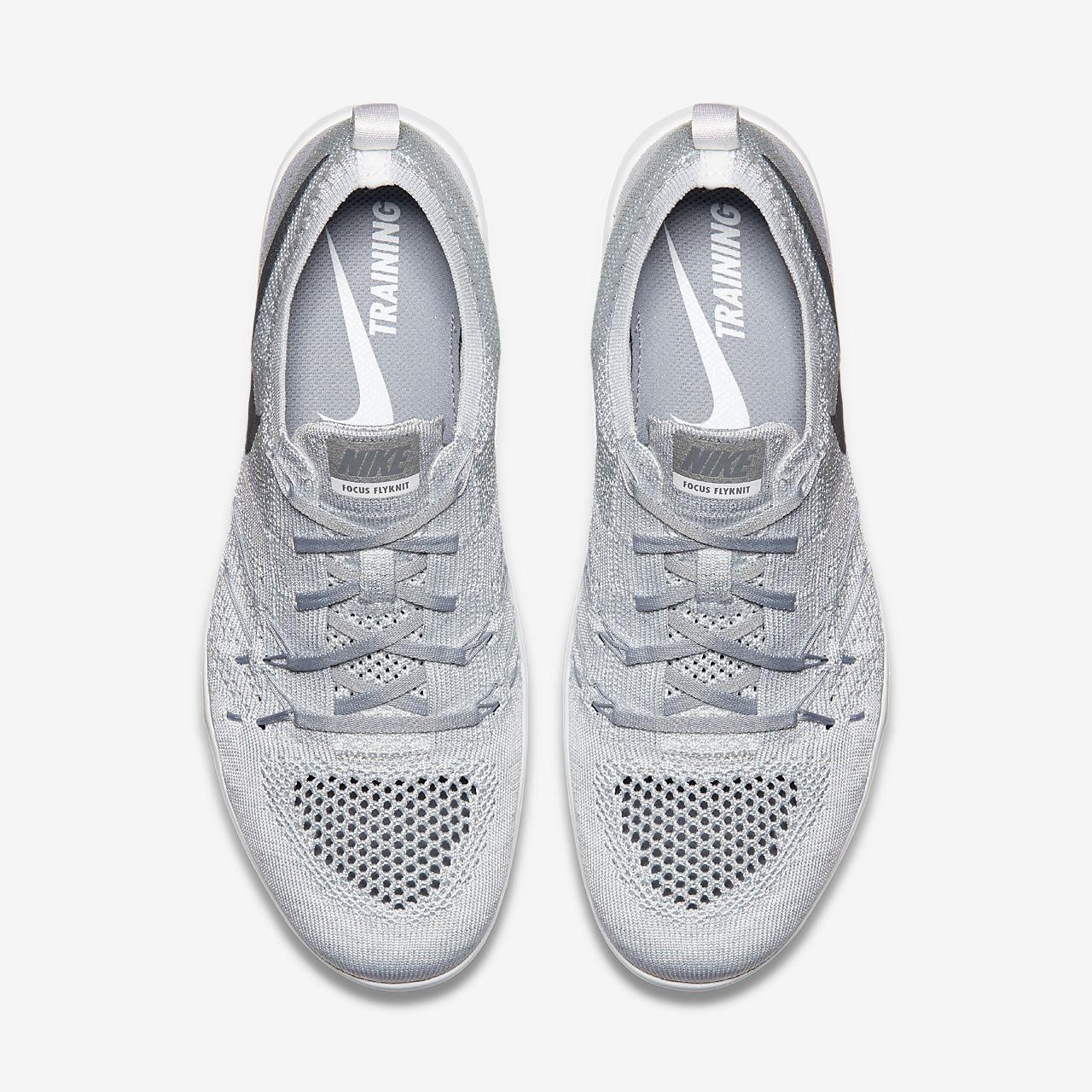 Nike W Nike Free Tr Focus Flyknit Gris ZHIVcmq