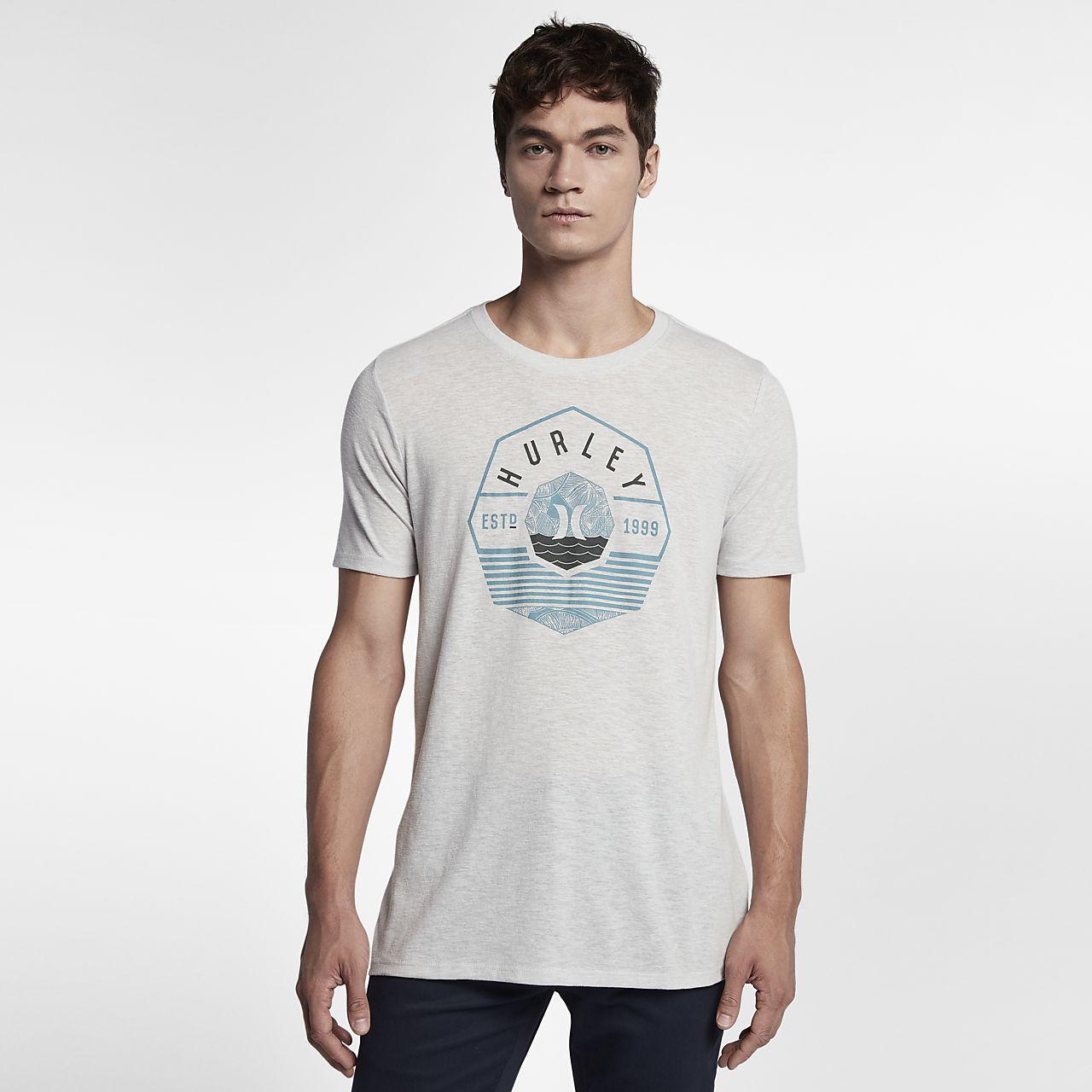 ... Hurley Tide Change Tri-Blend Men's T-Shirt