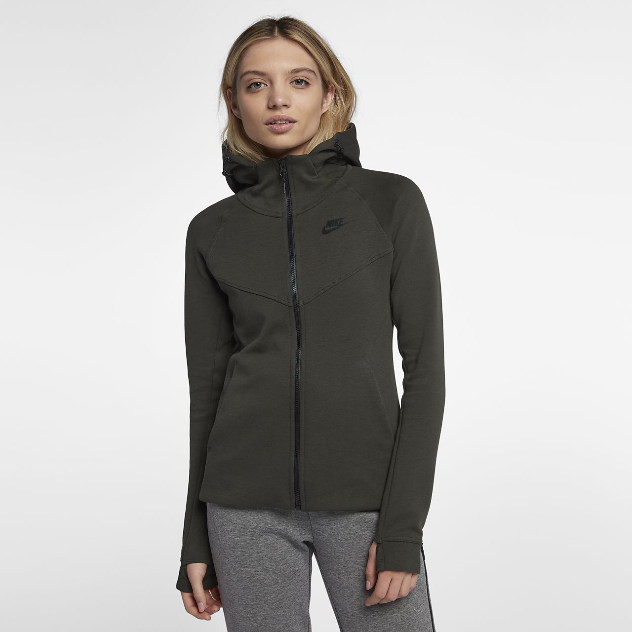 Nike Womens Golf Vest - Nike Tech Black Heather/Black/Black Y66u7998