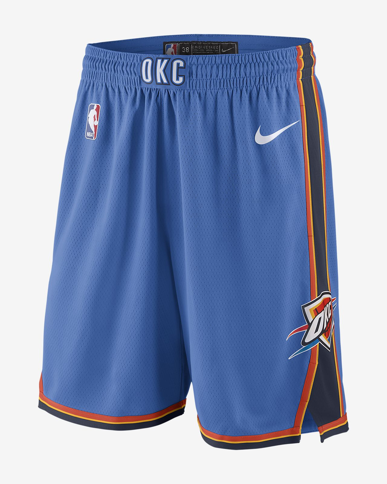 Nike Icon Nba Edition City Swingman Oklahoma Shorts Fr Thunder HSXwAqnxUR