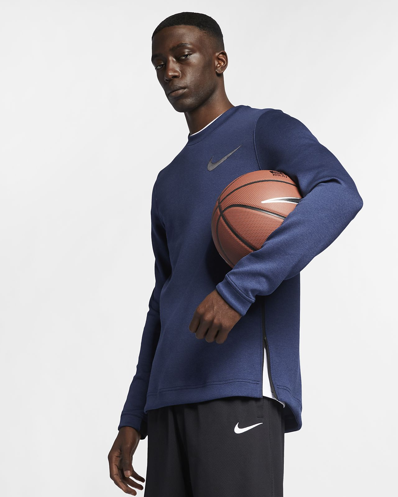 Sudadera de básquetbol para hombre Nike Therma Flex