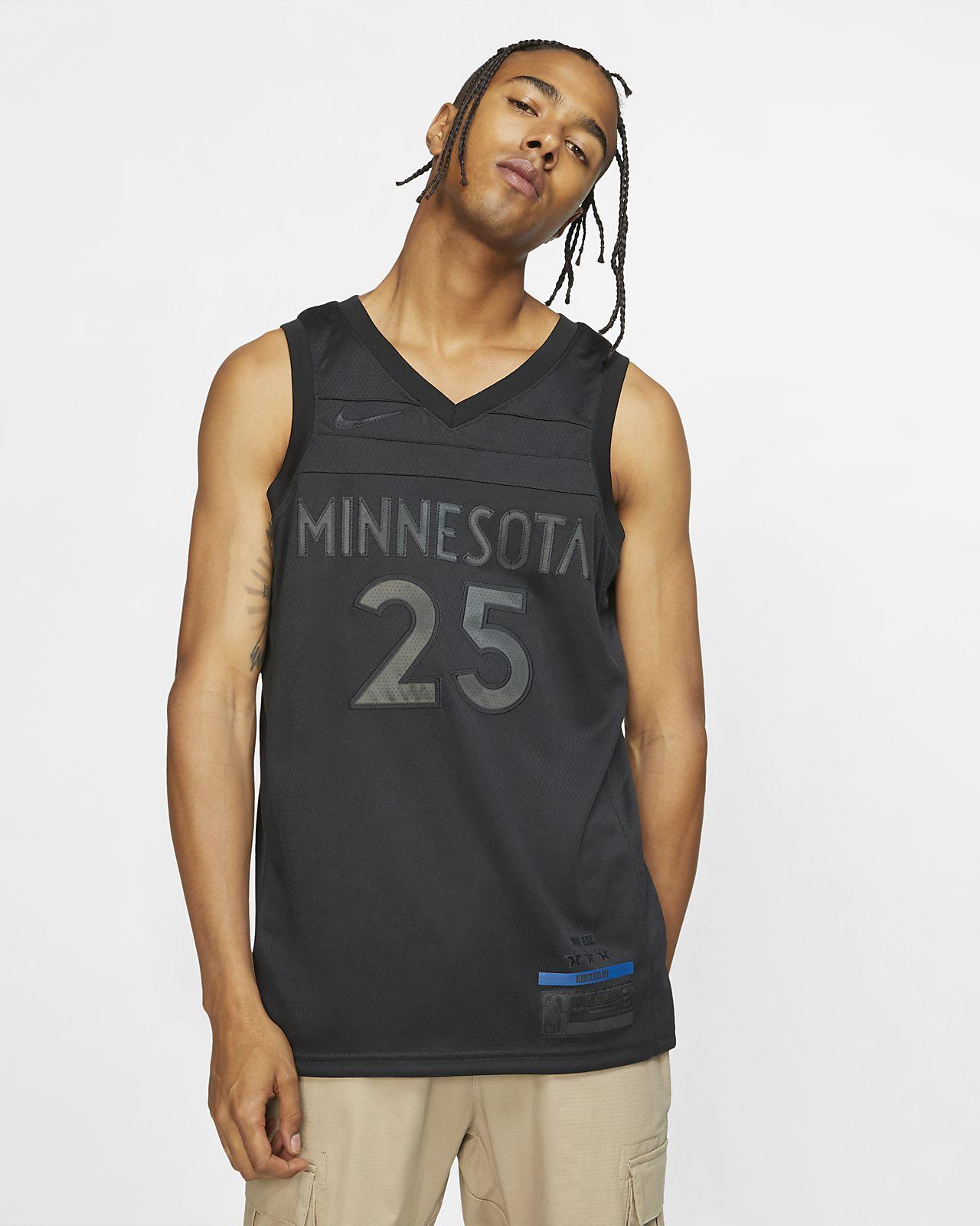 f64dcd35adc ... Derrick Rose MVP Swingman (Minnesota Timberwolves) Men's Nike NBA  Connected Jersey