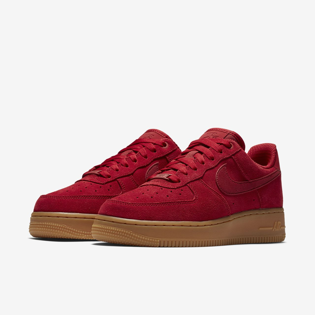 nike air force 1 07 womens shoe suede blues
