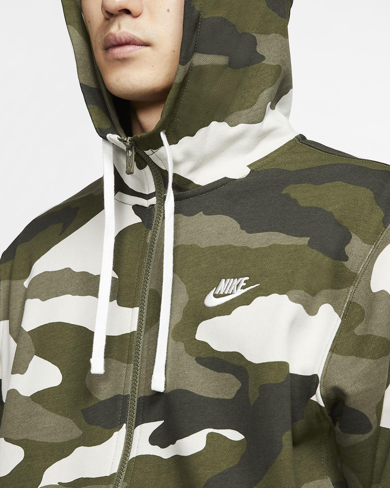 Nike Herren Full Zip French Terry Hoodie: : Bekleidung