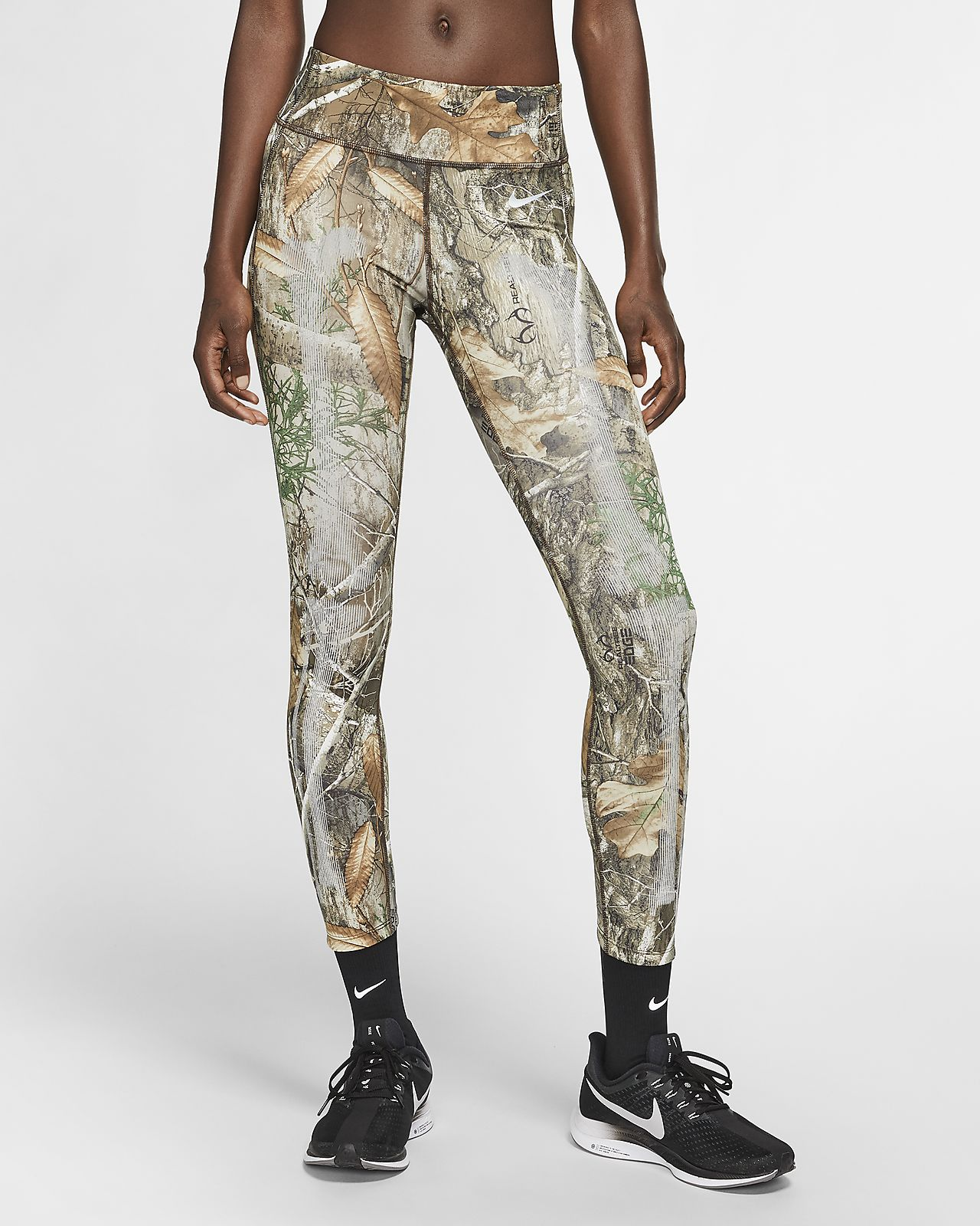 Nike Damen-Tights mit Skelettgrafik