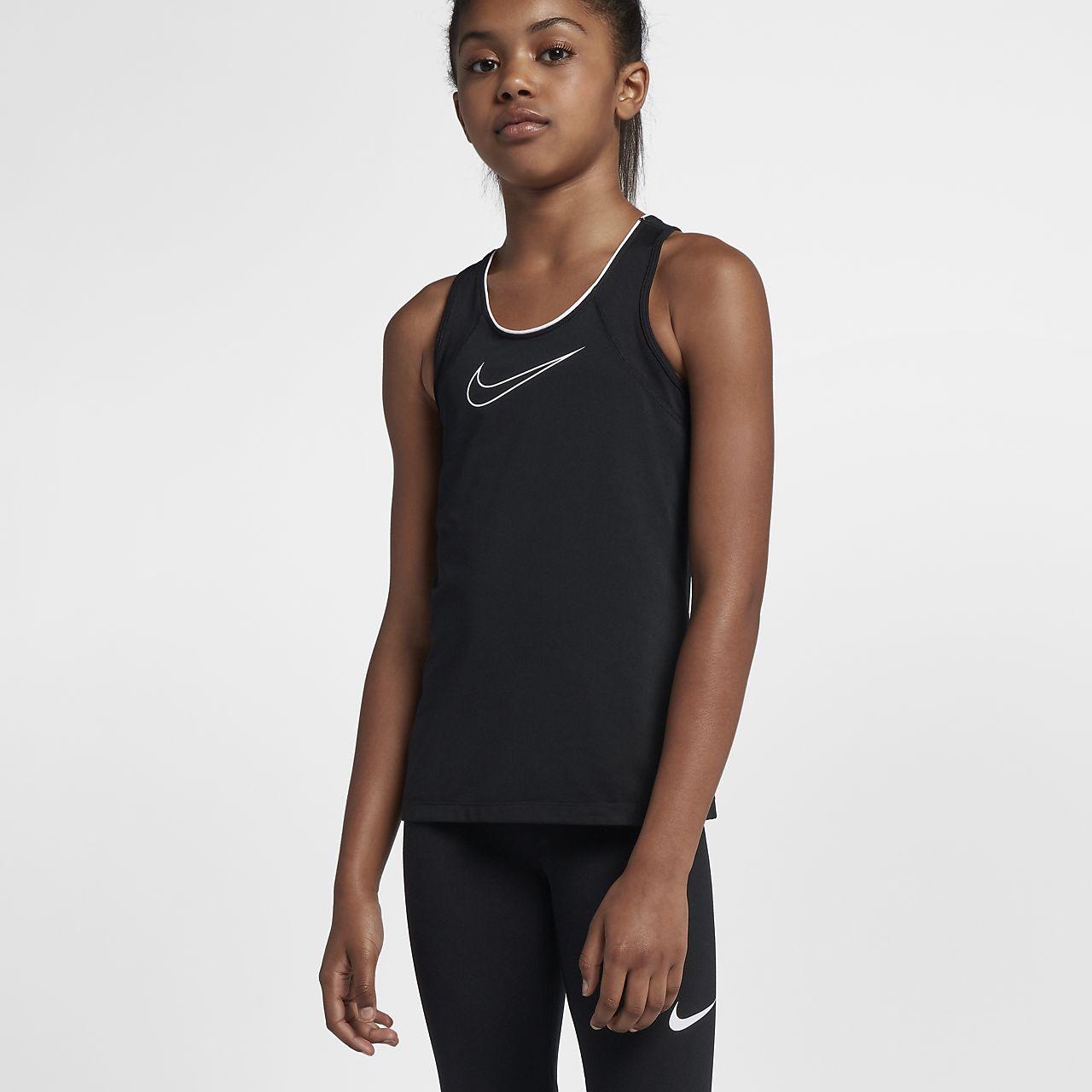 official photos 3f39d 629ed ... Débardeur de training Nike Pro pour Fille plus âgée