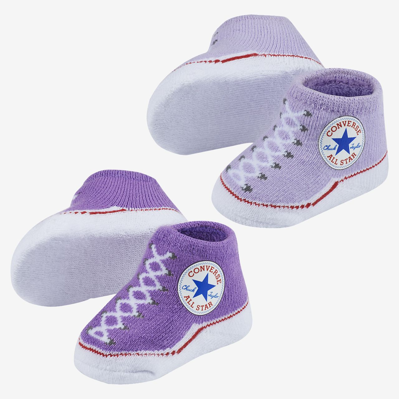 Converse Baby Bright Infant Booties 2 Pack Nike Com