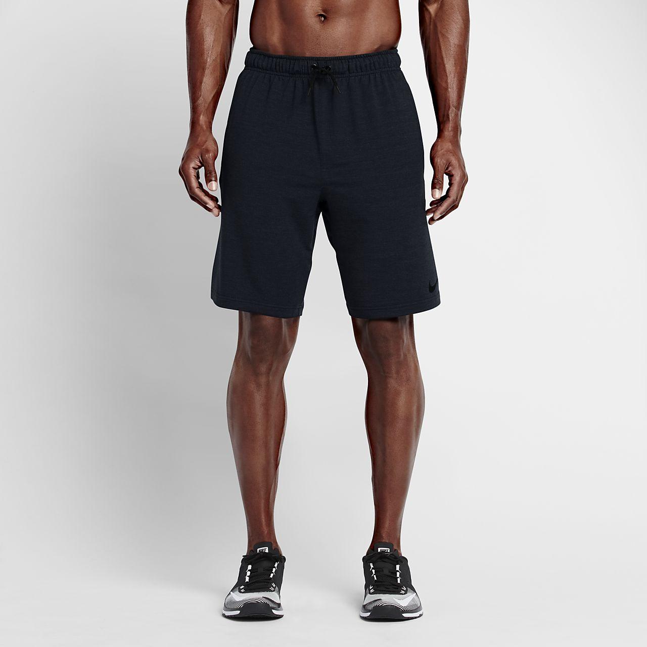กางเกงเทรนนิ่งขาสั้นผ้าฟลีซผู้ชาย Nike Dri-FIT