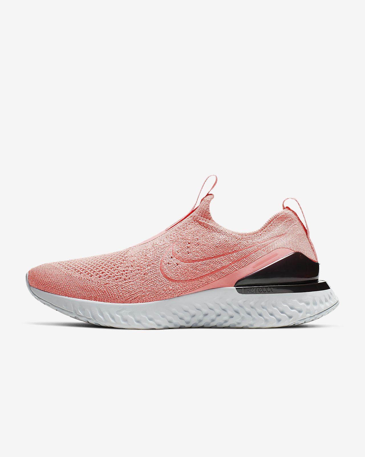 Nike Epic Phantom React Flyknit-løbesko til kvinder