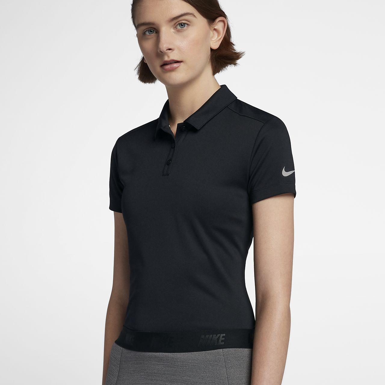 เสื้อโปโลกอล์ฟผู้หญิง Nike Dri-FIT