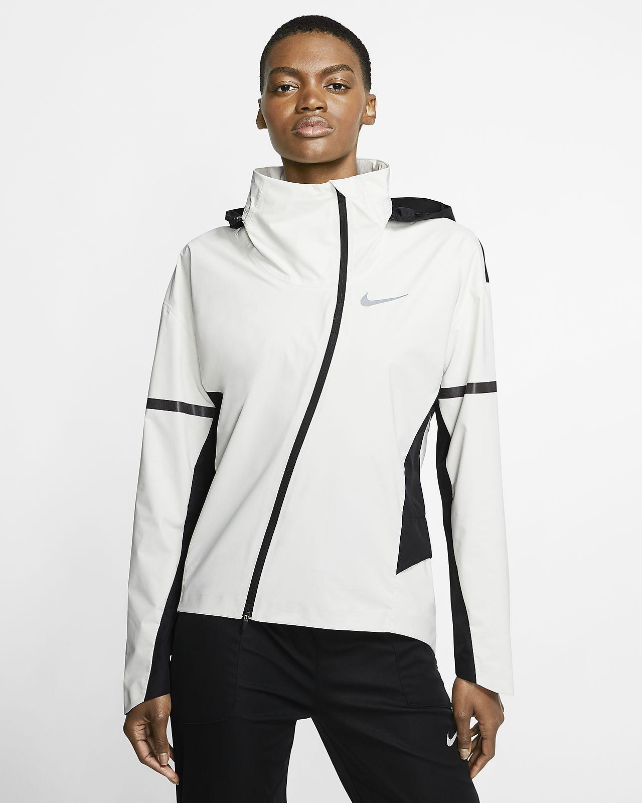 Giacca da running con cappuccio Nike AeroShield Donna
