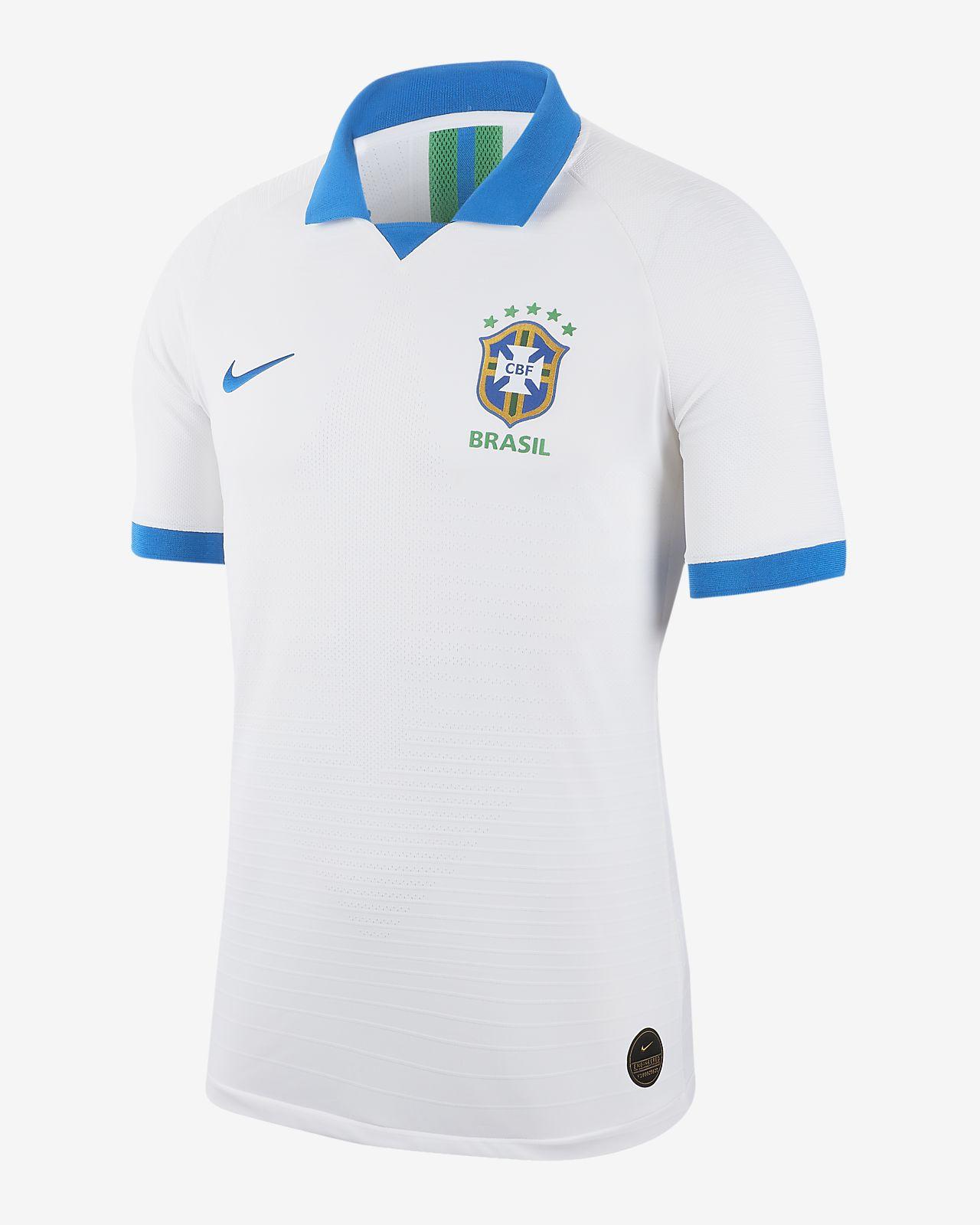 c8b6ee6e361bb Camiseta de visitante para hombre Brasil Vapor Match 2019. Nike.com MX