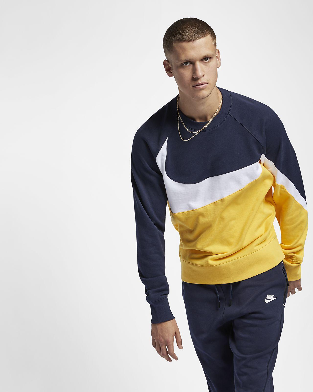 Nike Sportswear French-Terry-Rundhalsshirt
