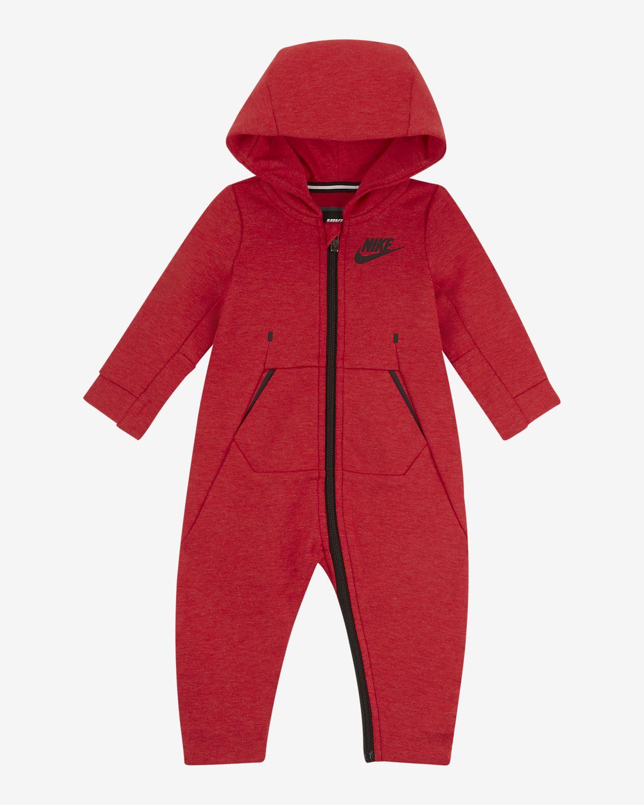 Coverall med huva Nike Tech Fleece för baby (0-9 mån)