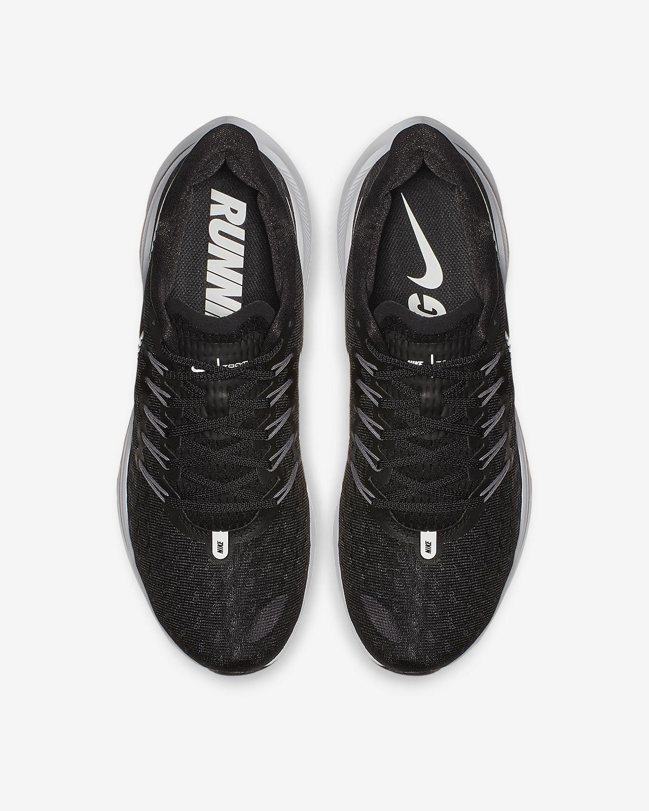 Nike Air Zoom Vomero 14 Homme Neuf Noir Blanc Gris Running Baskets AH7857-001