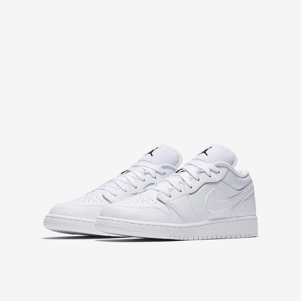 the latest 312ea f0f52 ... Air Jordan 1 Low Older Kids  Shoe