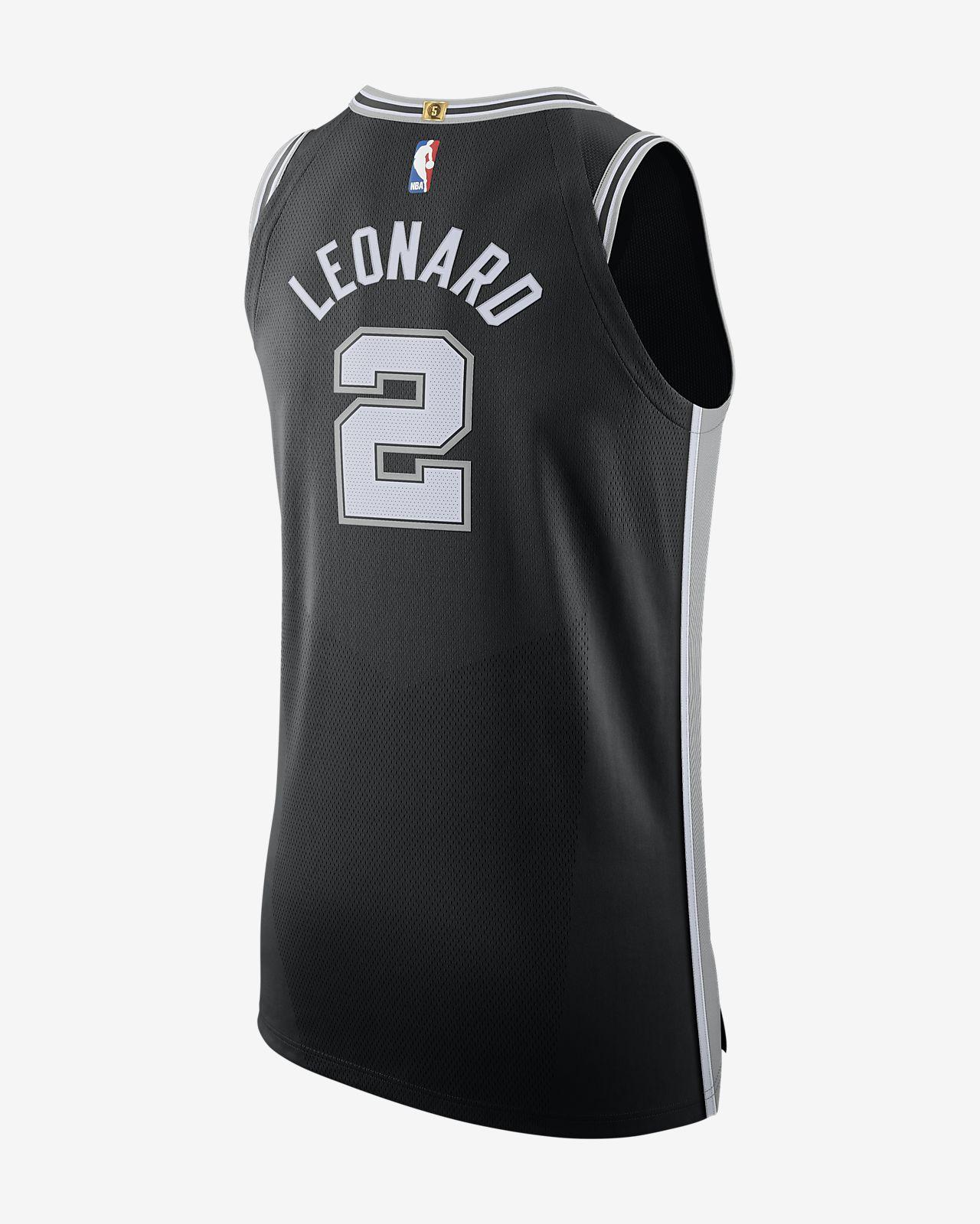 6f478a21e96 ... Kawhi Leonard Icon Edition Authentic (San Antonio Spurs) Men's Nike NBA  Connected Jersey