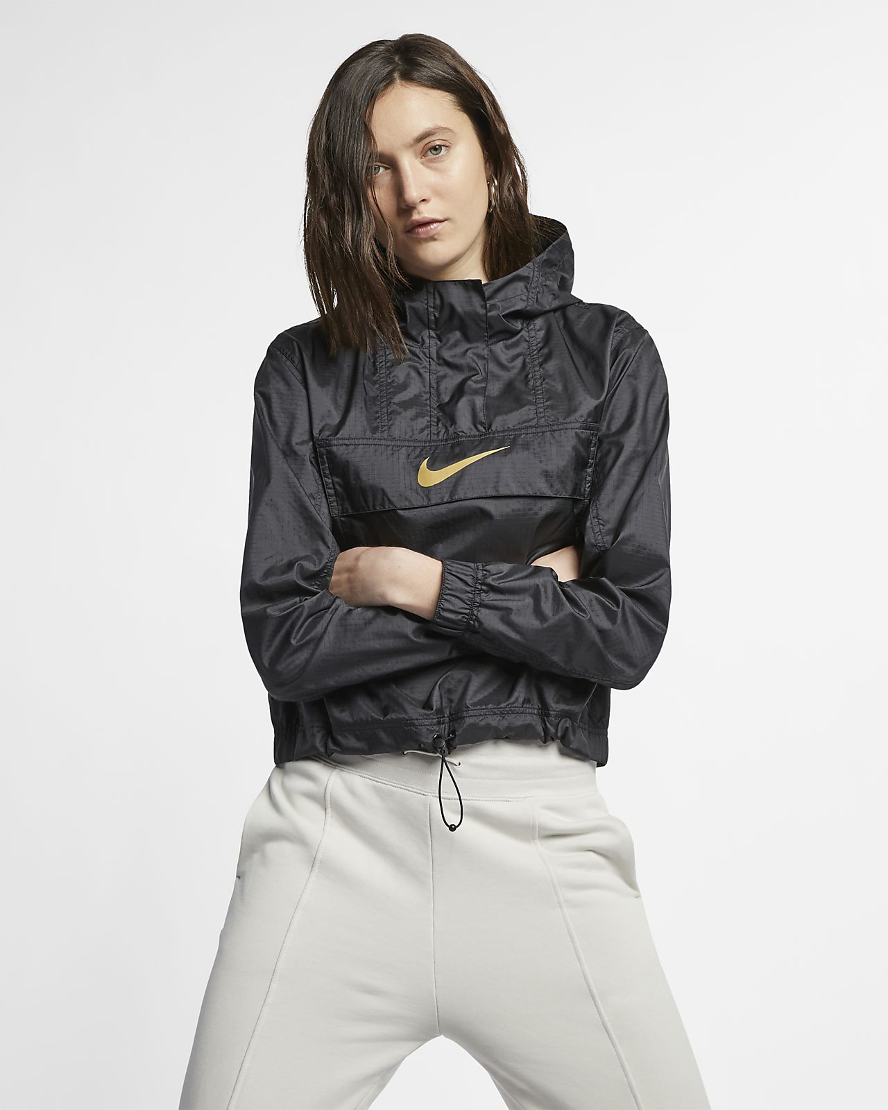 Nike Sportswear lett vindjakke med dyretrykk til dame