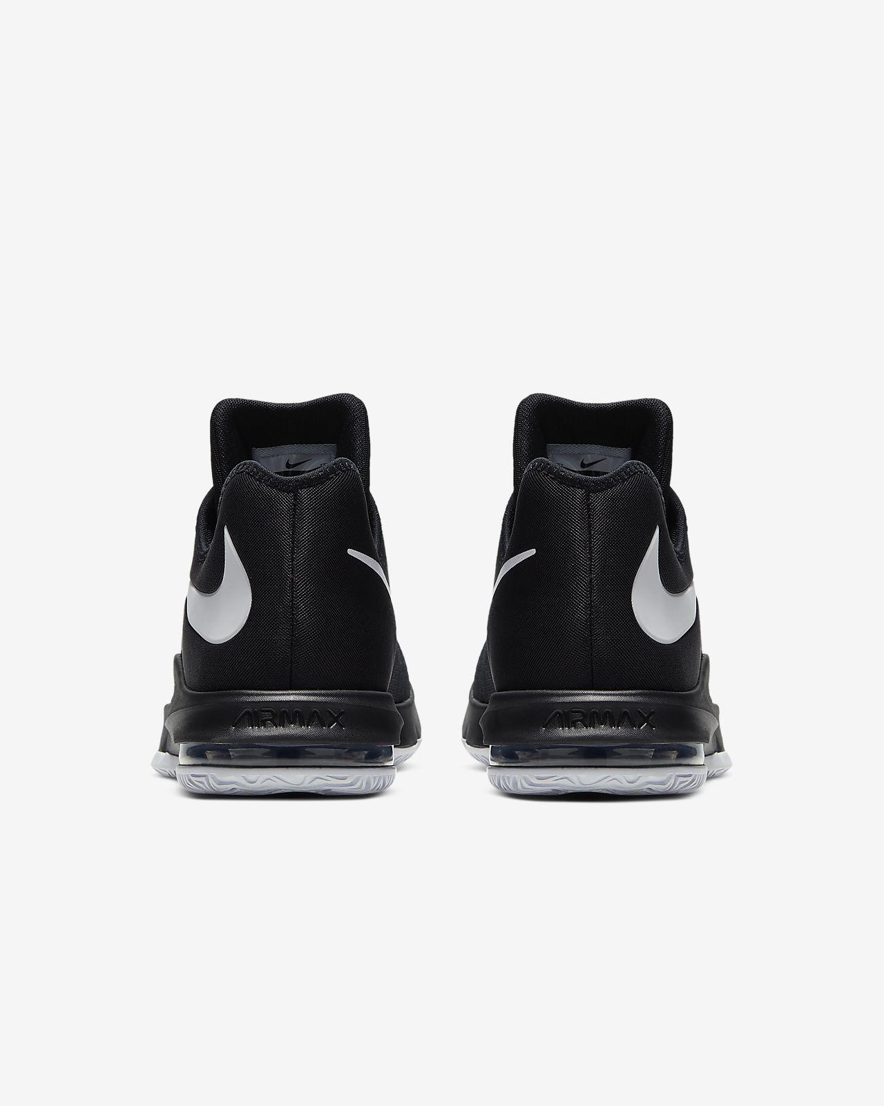 Nike Mens Air Max Infuriate Low 852457 001 black Schuhe