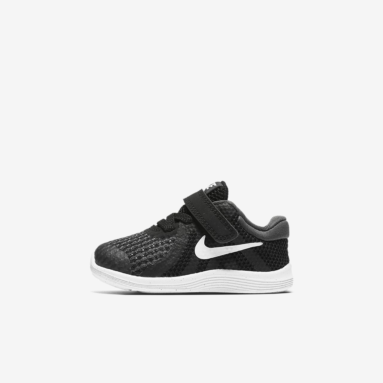 Toddler Revolution 4 Black White Anthracite Sneakers Nike 943304-006