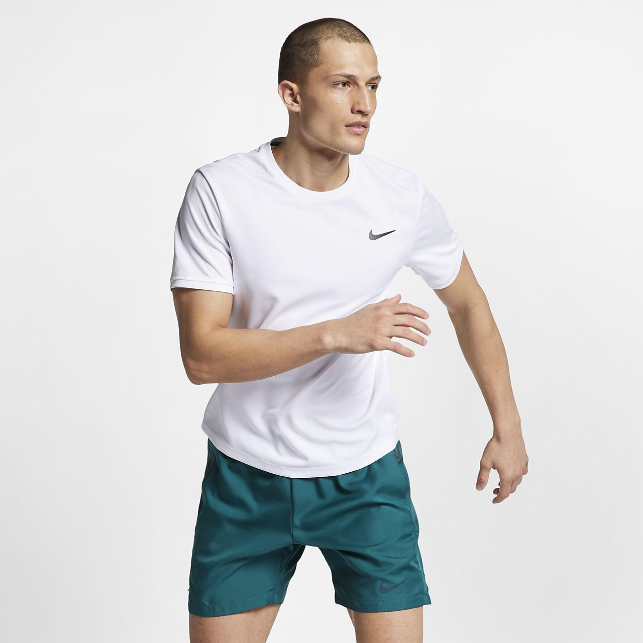 Camisola de ténis de manga curta NikeCourt Dri-FIT para homem
