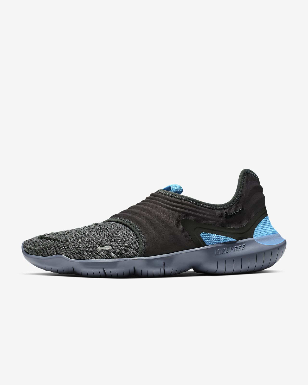 Nike Free RN Flyknit 5. 0 Black Men's Running Training Shoes